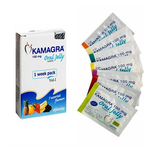 Kamagra Oral Jelly Sildenafil Citrate