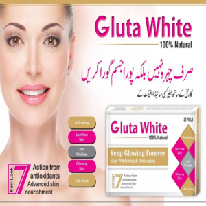 Gluta WHite capsules in pakistan